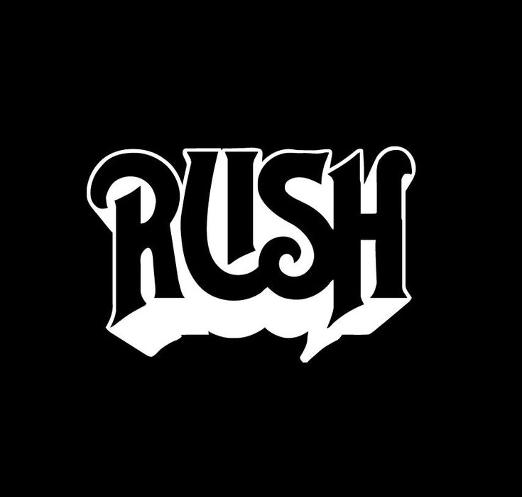 Rush band car window decal sticker easy peel and stick installation show off your