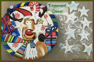 Christmas - Easy to make Peppermint Creams.
