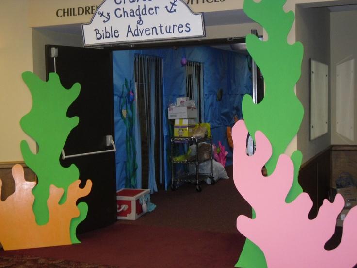 Sea Weed entrance - change color theme
