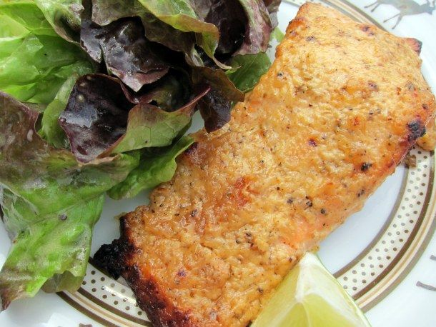 Tandoori Mango Salmon... making this tomorrow night