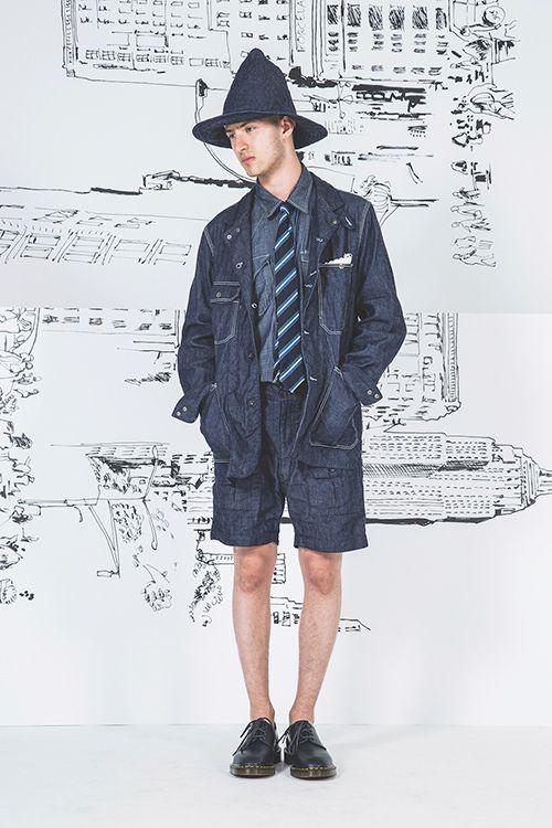 エンジニアド ガーメンツ 17年春夏コレクション - 原点回帰、繊細なディテールで引き立つシンプル | ニュース - ファッションプレス