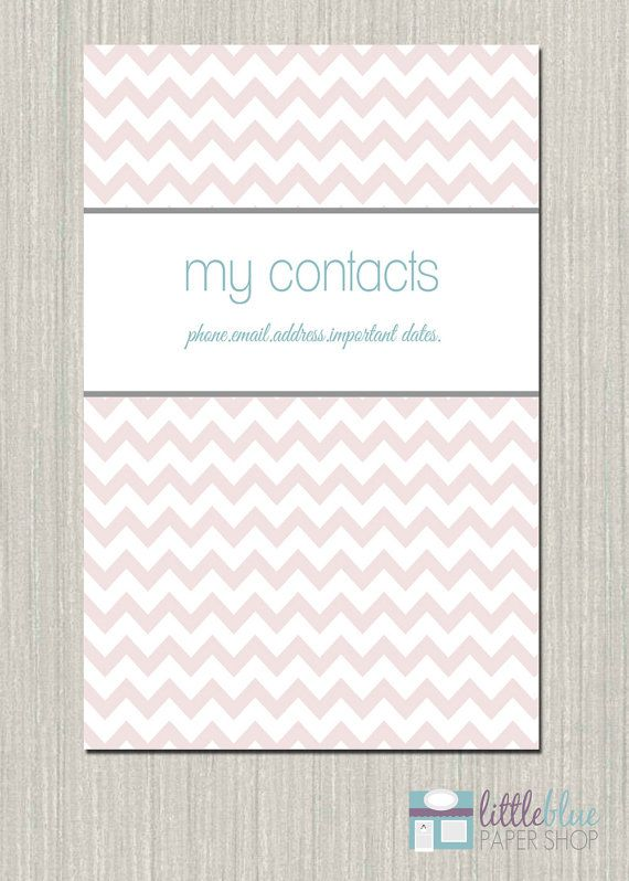 16 best DIY images on Pinterest Backyard, Crafts and Flowers - contact book template