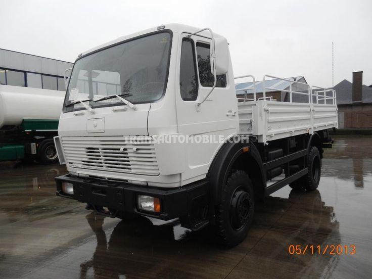 Trucks Flatbed Mercedes 1017 Ex-Army 4X4 https://www.transautomobile.com/en/export-mercedes-1017/628?PI