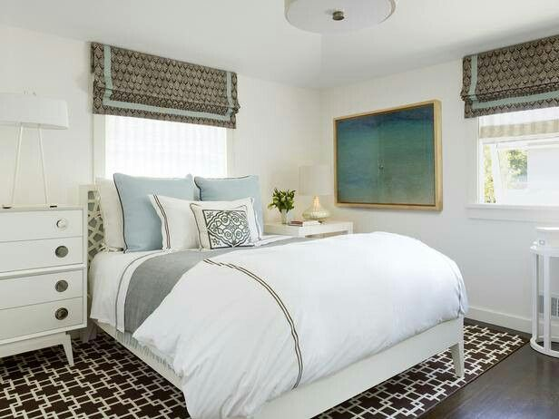 Small Bedrooms White Bedrooms Blue Brown Bedrooms Small Guest Rooms