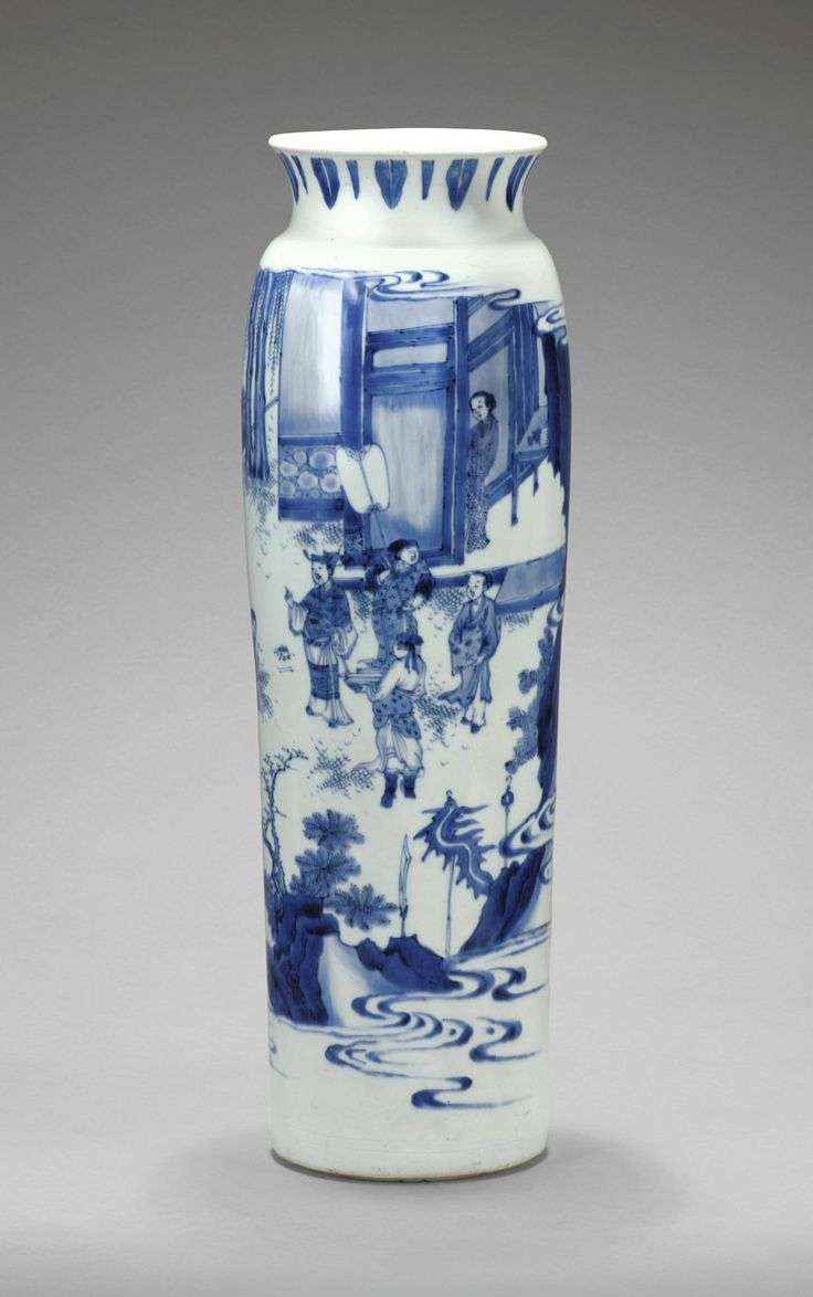 9944 best blue white images on pinterest blue and white white fine and large blue and white sleeve vase transitional period ca 1640 reviewsmspy