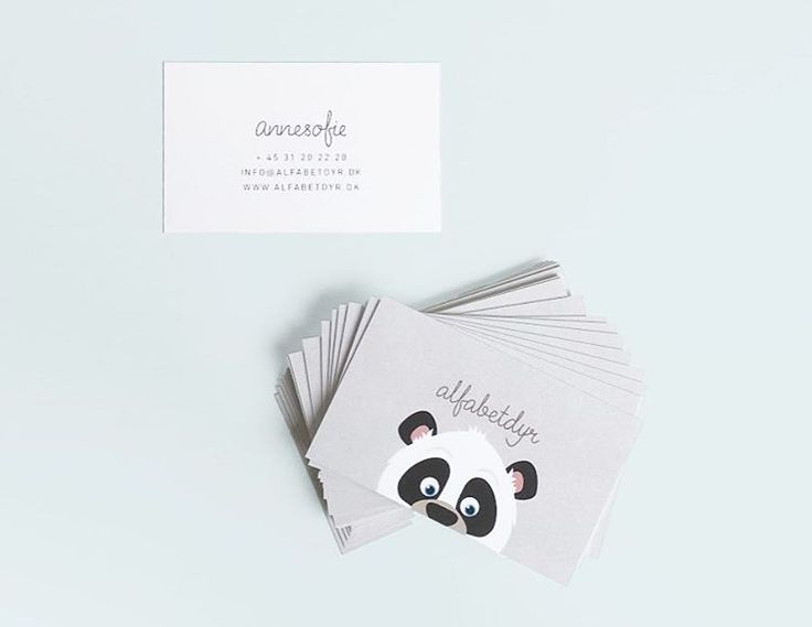 My business cards - Alfabetdyr