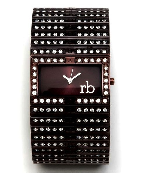 Brand Roccobarocco Watch for Women Steel black plated List Price € 295.00 Discounted price € 90.00