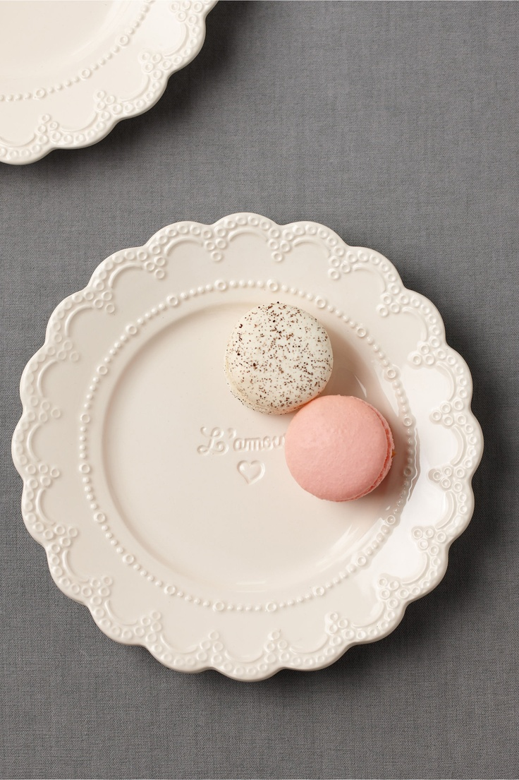 L'Amour Tidbit Plate from BHLDN