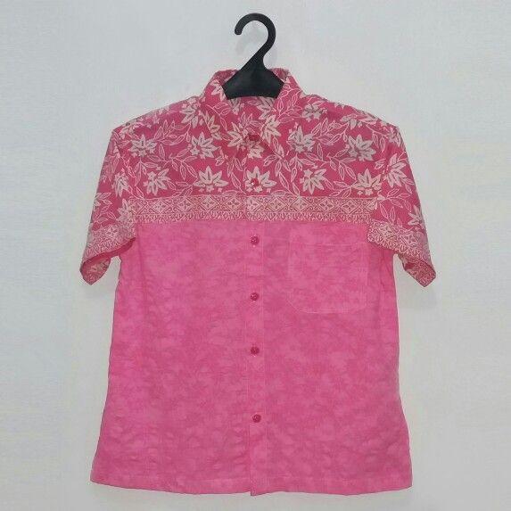 Pink selection for your big kid. #pinkselection #bigkidsstyle #batikshirtforbigkids www.pipopile.com