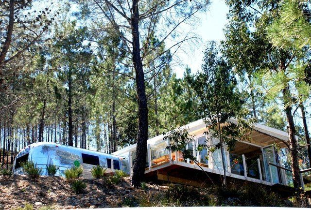 Stay in a gloriously strange South African Airstream hotel