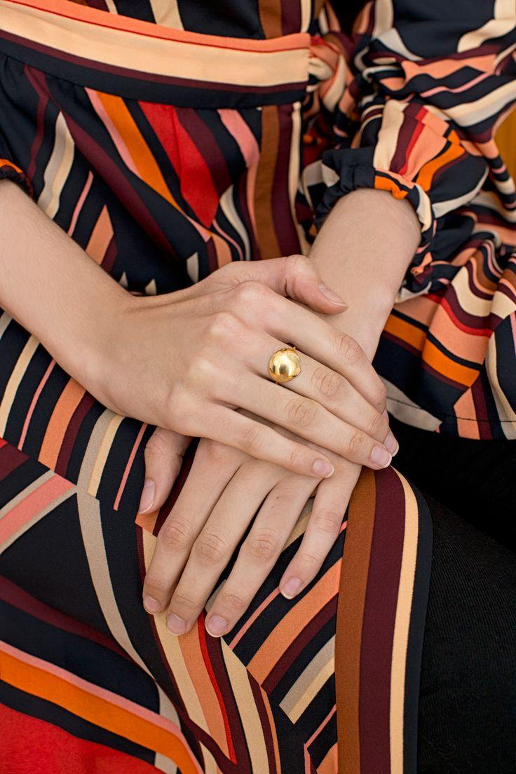 rett frem #jewelry | Marlena #rings  | Precjoza collection | photo Magdalena Czajka