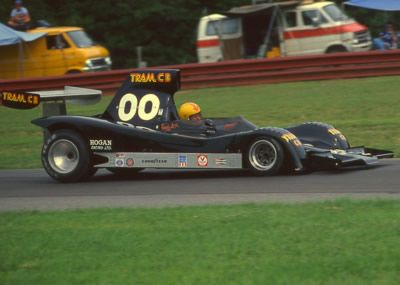 Randy Lewis at Mid-Ohio in 1977. Copyright Terry Capps 2014. Used with ...