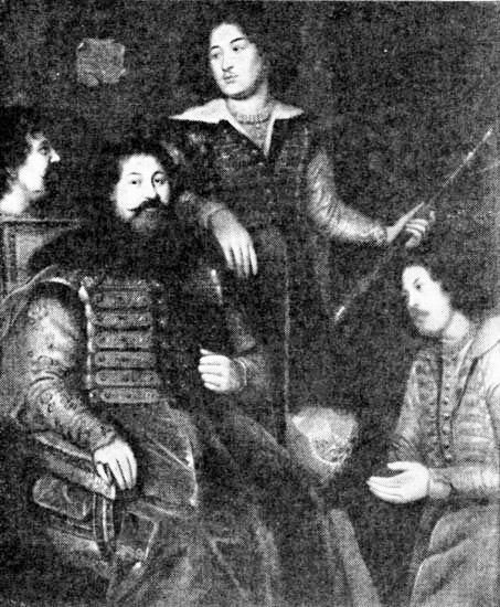 Посольство в Англию 1662 года (князь Прозоровский Петр Семенович, Желябужский И.А., Давыдов И. - дьяк, Форот А. - переводчик)