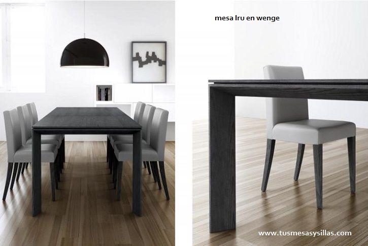20 best images about mesa de comedor modernas fijas o for Mesas comedor extensibles modernas