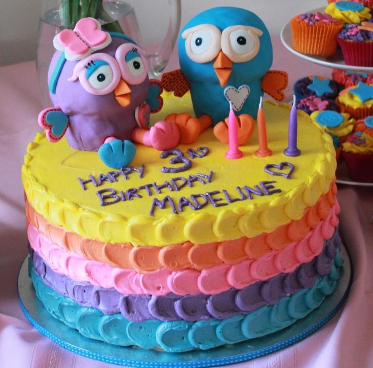 Hoot and Hootabelle Cake