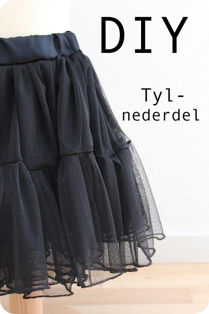 tyl nederdel