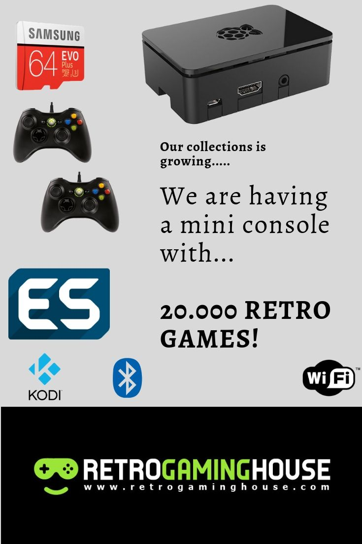 All In One Emulator Console System 20,000 Games | Retropie