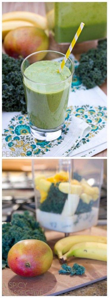 A Green Smoothie Recipe that actually tastes good!