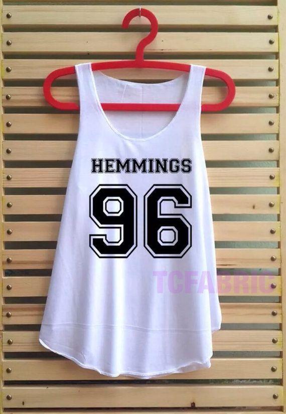 luke hemmings 96 shirt five 5 seconds of summer shirt by TCFABRIC