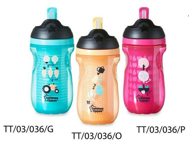 Tommee tippee insulated straw cup 12m+ 1seri 3wrn @102.000