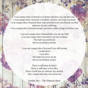 A poem and an update