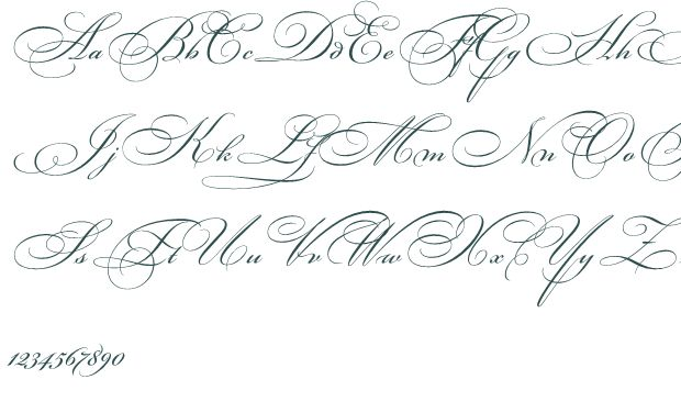 Bickhamscriptfancy2 font download free truetype fancy for Small cursive tattoos