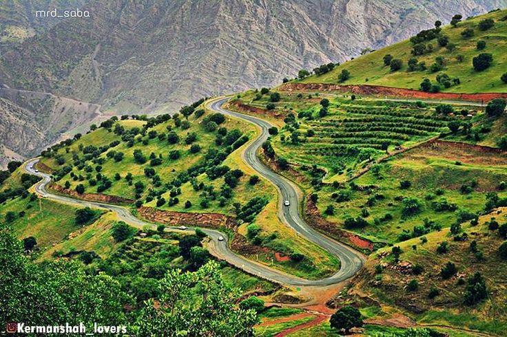 Beautiful Road through the beautiful Nature of Kirmaşan