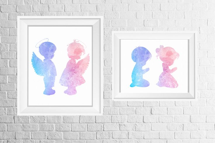 A personal favorite from my Etsy shop https://www.etsy.com/listing/533986586/twins-room-or-nursery-decor-print-set