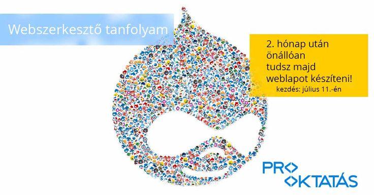 Drupal -http://www.prooktatas.hu