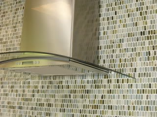 1x1' glass tiles make a beautiful statement...: Glasses Tile, Kitchens Ideas, Kitchens Backsplash, Mosaics Wall, Jakabedy2Jpg 400300