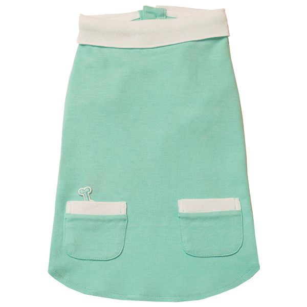 Polo Shirt with Pockets - Aqua