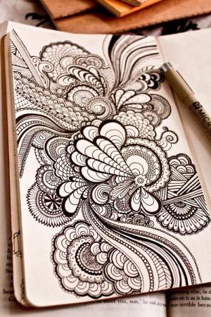Zentangle by sweet.dreams