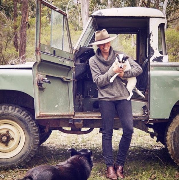 Land Rover 88 Series pickup. Family farm. Nice!