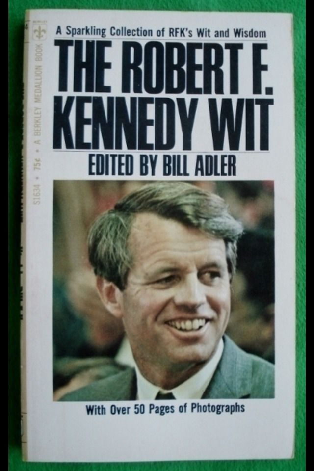 """Robert Francis Kennedy (November 20, 1925 – June 6, 1968), commonly known as """"Bobby"""" or by his initials RFK, was an American politician, who served as a Senator for New York from 1965 until his assassination in 1968. He was previously the 64th U.S. Attorney General from 1961 to 1964, serving under his older brother, President John F. Kennedy ❤❃❤❋ ❤❋ ❤❃❤ http://en.wikipedia.org/wiki/Robert_F._Kennedy"""