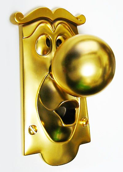 "Kevin Kidney and Jody Daily : ""Alice in Wonderland"" Door Knob 