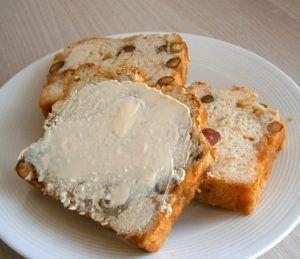 Suikerbrood anders: Appel-Notenbrood met Vanille fudge