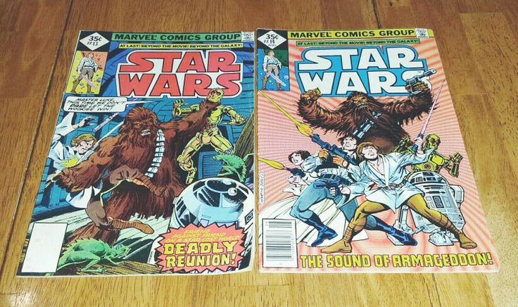 Sold:  1978 Star Wars Comic Books for sale in my Etsy Shop www.danushascollectibles.etsy.com empire strikes back, george lucas, comic book, marvel comic, dc comics, 1978, book, collectible