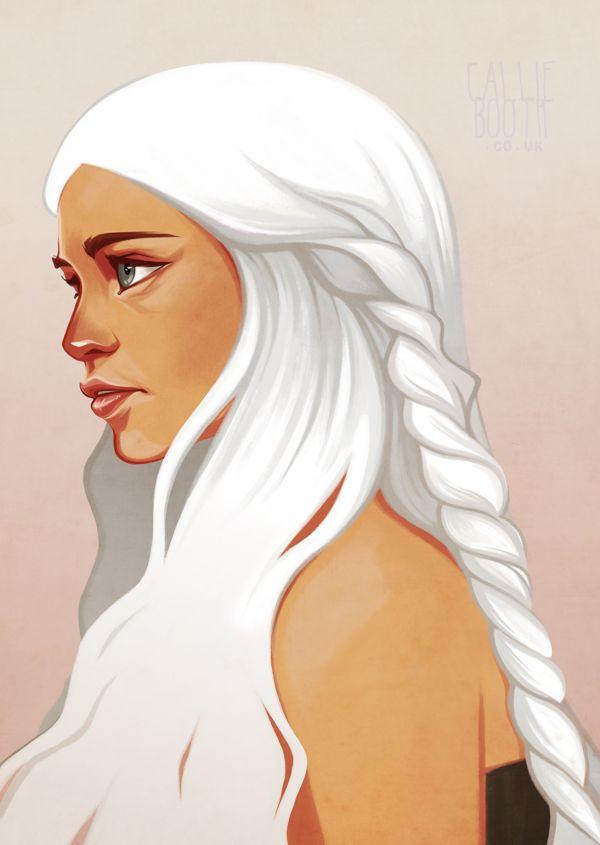 Daenerys Targaryan by Callie Booth