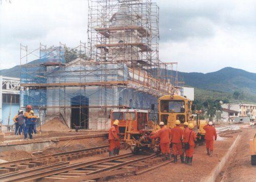 Mariana -- Estações Ferroviárias do Estado de Minas Gerais