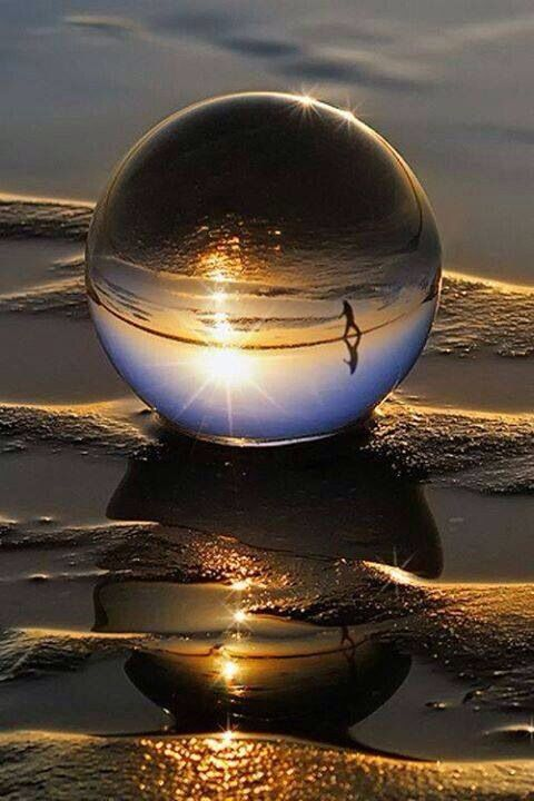 A Beautiful Reflection In A Water Drop Amazing