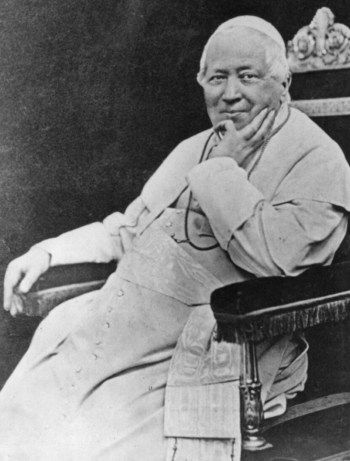 February 7 - Pope Blessed Pius IX, c.1878...was chosen 255th pope in the conclave of 1846. He was the last pope to hold temporal power, that is, to rule a secular state. His election raised the hopes of patriotic and liberal circles of Catholics.... ~ CatholicSaints.Info