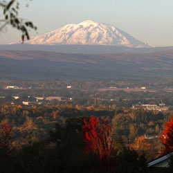 Mt Adams from Yakima WA