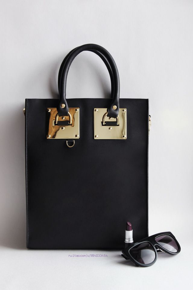 Black Albion Tote style bag $70
