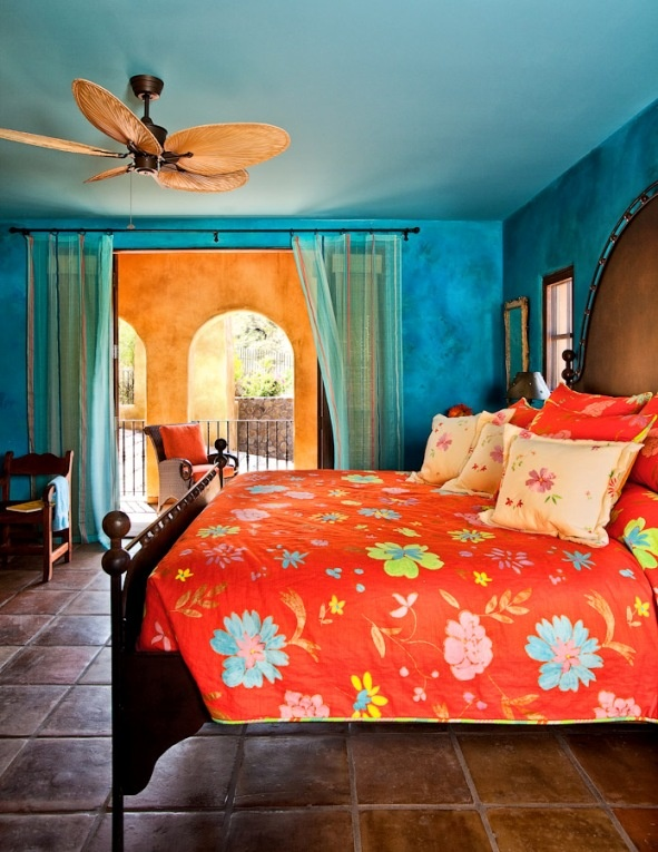 39 best images about bedrooms on pinterest red bedrooms for Spanish bedroom decor