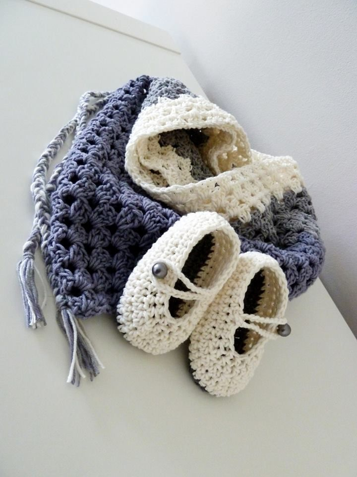 Crochet set for toddlers
