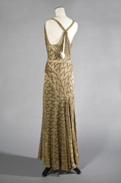 Evening Dress, c 1933