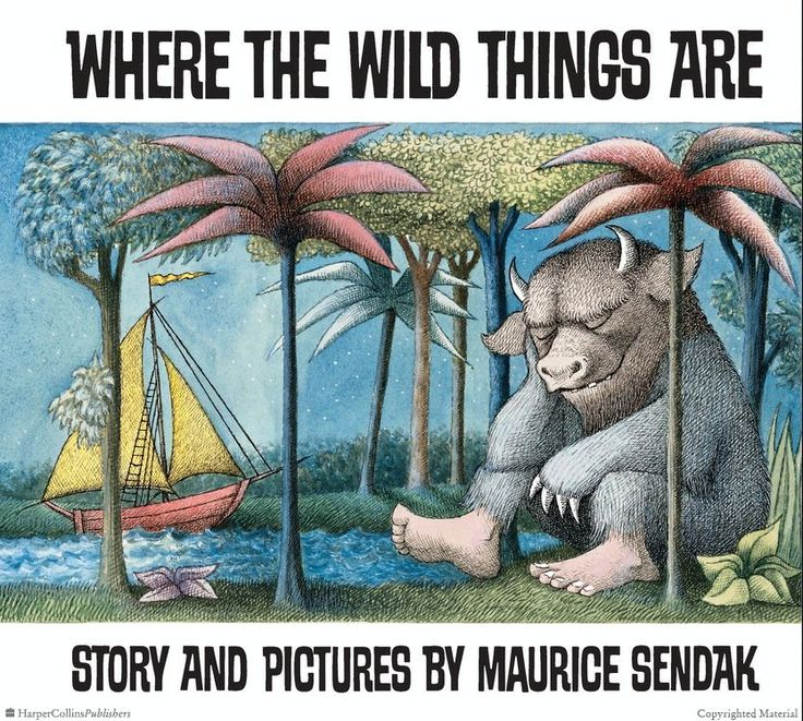 Browse Inside Where The Wild Things Are By Maurice Sendak Ilrated