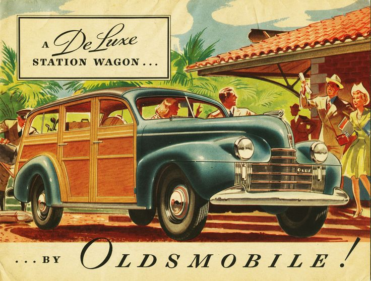 1940 Oldsmobile DeLuxe Station Wagon | car and truck ads ...