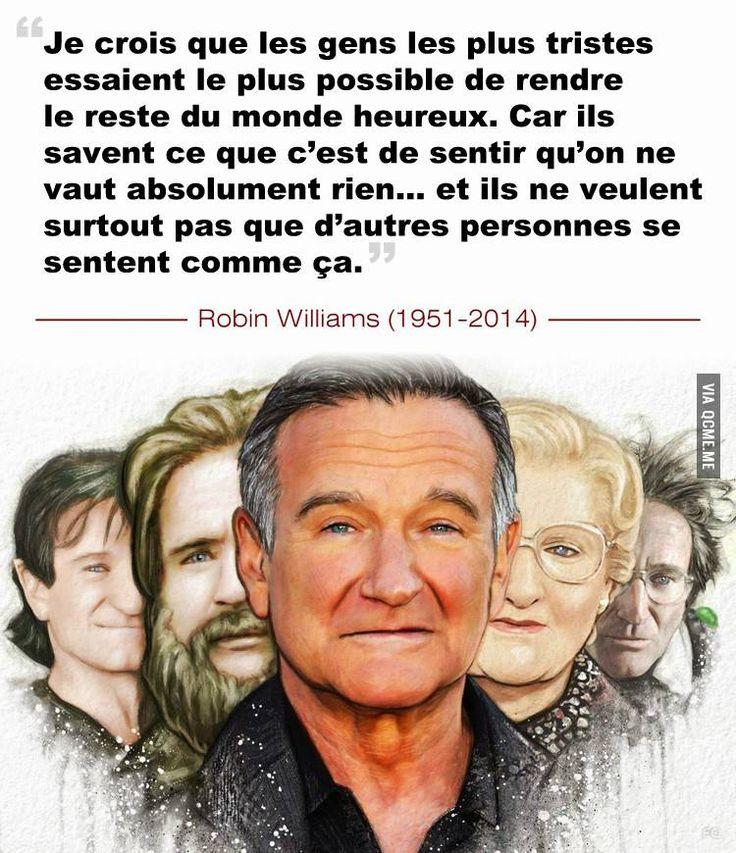 Robin Williams était un homme brillant à la fois drôle et complexe, il a illuminé la vie de nombreuses personnes grâce à la comédie et à son humour.