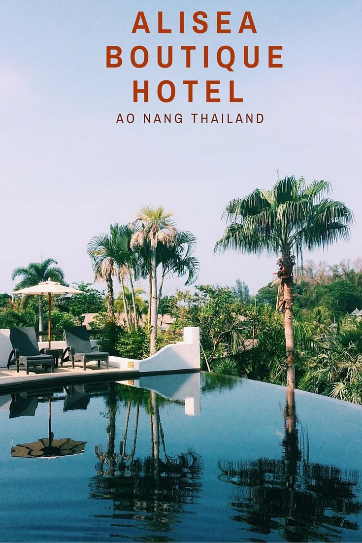 Alisea Boutique Hotel, Best place to stay when in Ao Nang.
